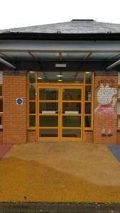 Manual Aluminium Doors